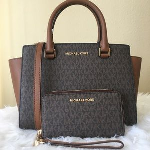 Michael Kors medium Selma satchel & wallet